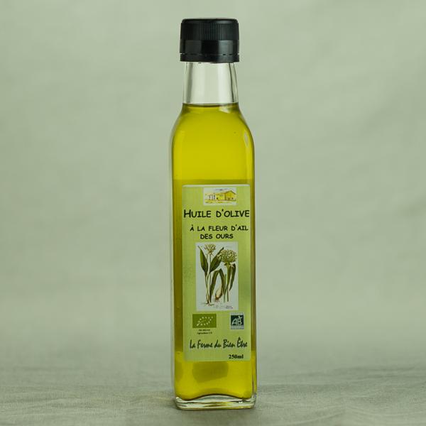 Aromates Gamme Ail Des Ours Huile D Olive A La Fleur D Ail Des
